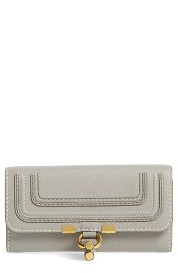 Chloé Marcie - Long Leather Flap Wallet