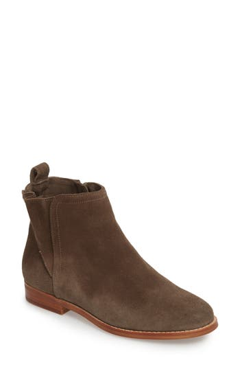 Sole Society Barbora Gusseted Bootie, Grey