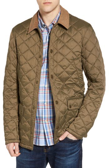 Barbour Glyne Quilted Jacket, Green