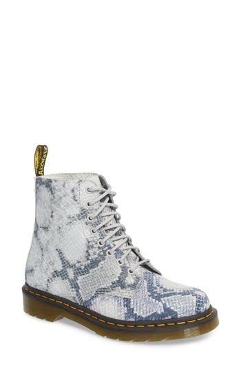 Dr. Martens Pascal Snake Boot, Grey