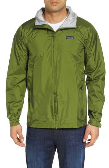 Men's Patagonia 'Torrentshell' Packable Rain Jacket, Size XX-Large - Green
