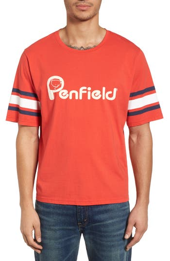Penfield Ringold T-Shirt, Red