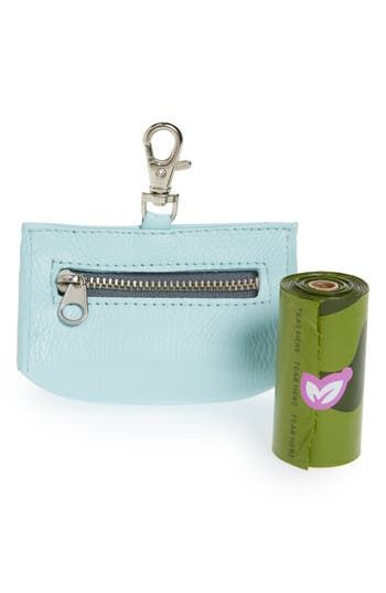 Lovethybeast Prism Leather Waste Bag Pouch, Size One Size - Blue