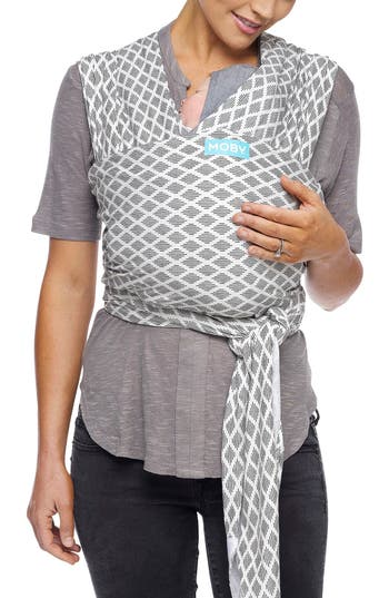 Infant Moby Wrap Evolution Baby Carrier Size One Size  White