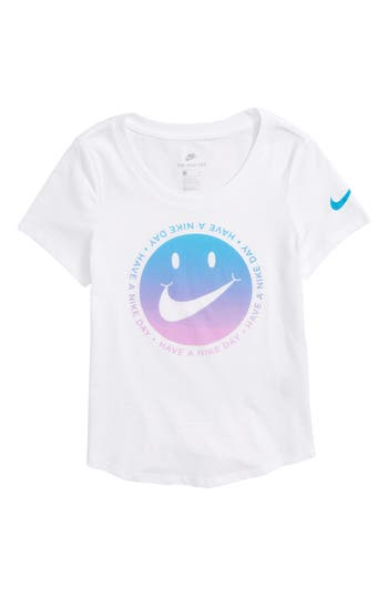 Girls Nike Swoosh Happy Graphic TShirt