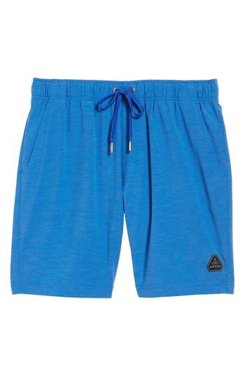 Prana Metric Board Shorts, Blue
