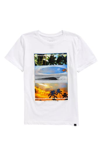 Boys Quiksilver Places To Be Graphic TShirt