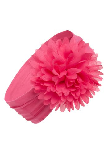 Baby Bling Flower Headband, Size One Size - Pink