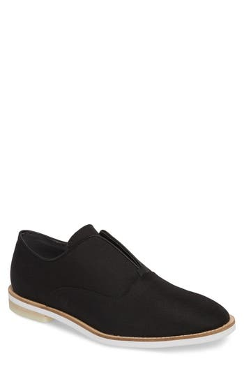 Calvin Klein Auston Laceless Wingtip Oxford- Black