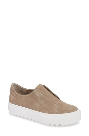 Jslides Spazo Slip-On Platform Sneaker, Beige