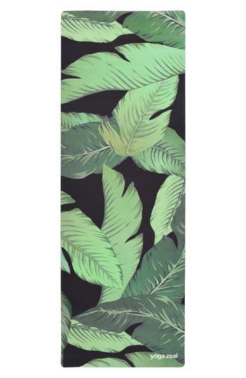 Yoga Zeal Banana Leaf Print Yoga Mat
