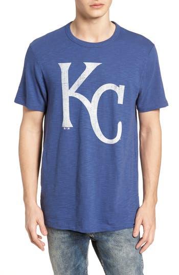 47 male mens 47 mlb grit scrum kansas city royals tshirt size small blue