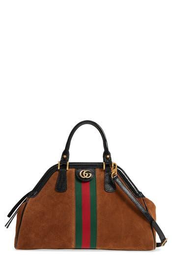 Gucci Medium RE Suede Satchel