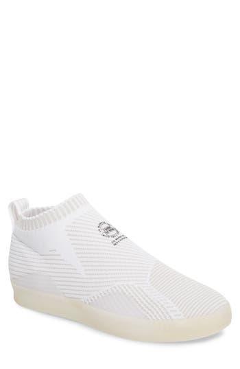 Adidas 3St.002 Primeknit Skateboarding Shoe, White