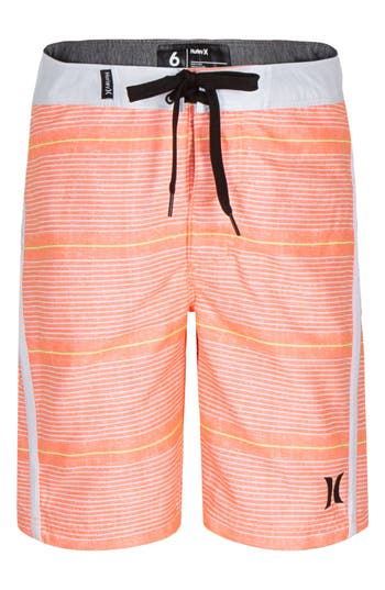 Boys Hurley Shoreline Board Shorts Size 10  Orange