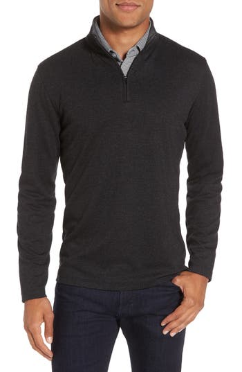 Mizzen+Main North Mock Neck Pullover