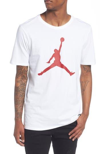 Nike Jordan Sportswear Iconic Jumpman T-Shirt, White