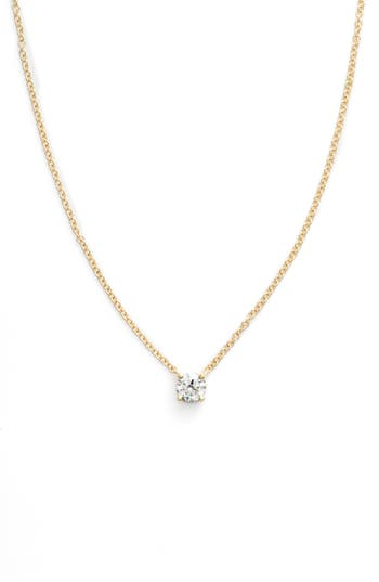 Bony Levy Liora Solitaire Diamond Pendant Necklace
