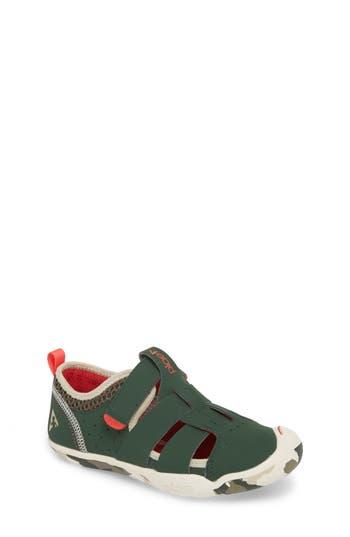 Boys Plae Sam Customizable Sneaker Size 4 M  Green