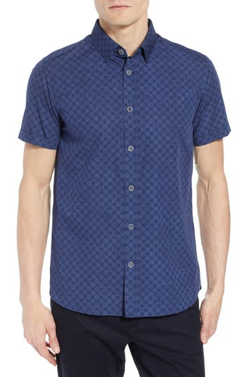 Clearance Outlet Store Professional Sale Online Ted Baker London Rednoes Giant Dot Sport Shirt Supply Cheap Online THn6QJxf