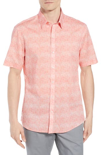 Men's Zachary Prell Regular Fit Woven Shirt