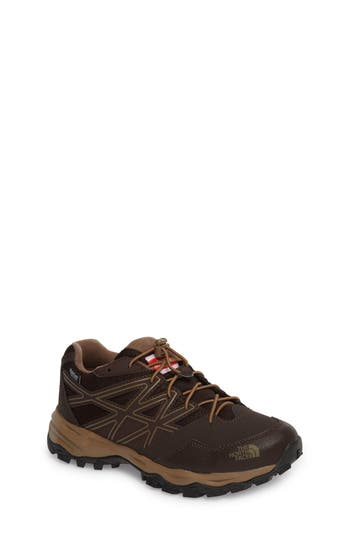 Boys The North Face Hedgehog Hiker Boot Size 5 M  Brown