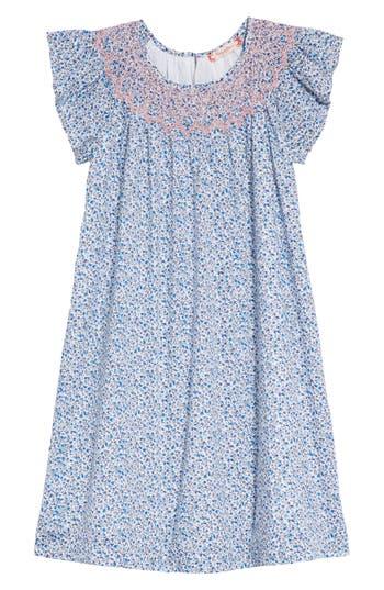 Girls Ruby  Bloom Smocked Ditzy Dress