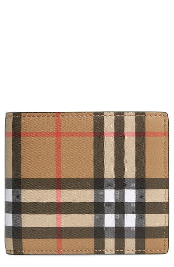 Burberry Horseferry Leather Wallet