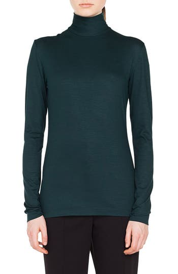 Akris punto Stretch Modal Turtleneck