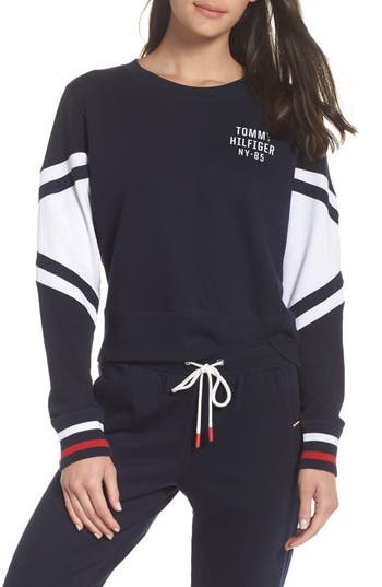 Tommy Hilfiger Cropped Lounge Pullover