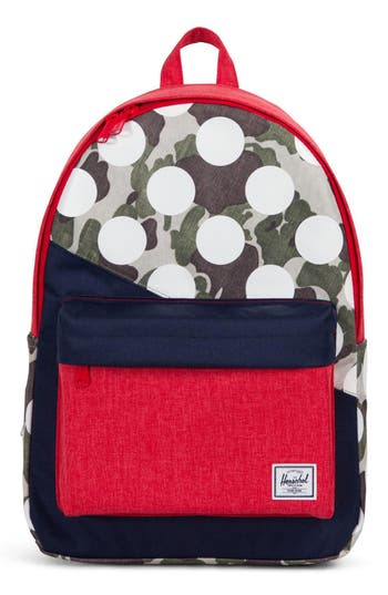 CLASSIC KALEIDOSCOPE BACKPACK - RED