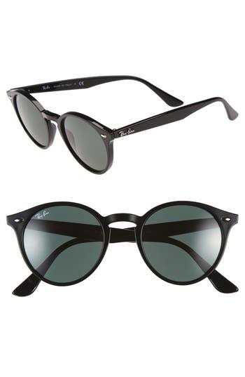 Ray-Ban Highstreet 4m Round Sunglasses - Black