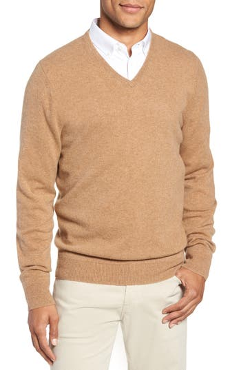Nordstrom Men's Shop V-Neck Cashmere Sweater