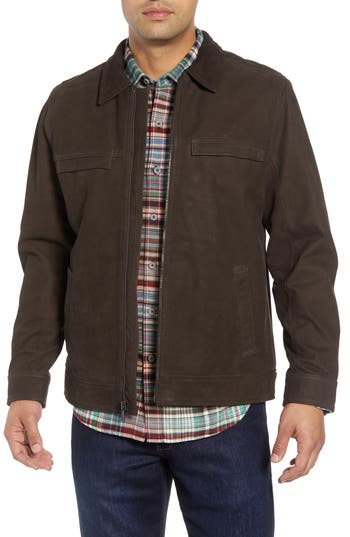 Tommy Bahama Elliott Bay Leather Jacket