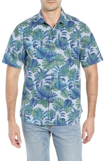 Tommy Bahama Shadow Shade Regular Fit Camp Shirt