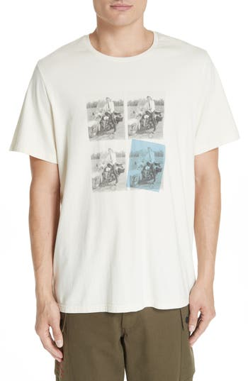 Men's Ovadia & Sons Elvis Graphic T-Shirt, Size Small - White