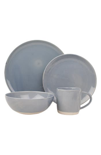 Canvas Home Shell Bisque 4Piece Place Setting