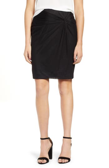 Women's 1.state Mesh Knee Length Skirt