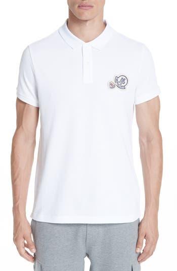 Moncler Maglia Cotton Polo Shirt