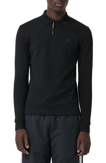 Burberry Hartford Long Sleeve Polo