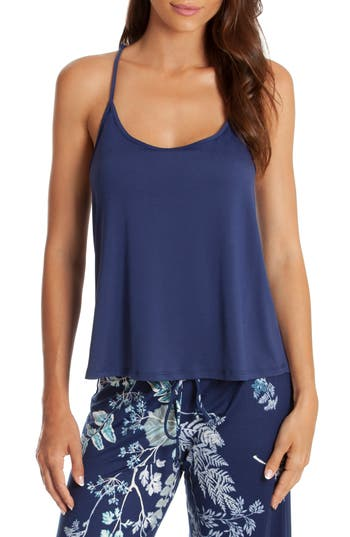 Women's In Bloom By Jonquil Harmony Sleep Camisole, Size X-Small - Blue