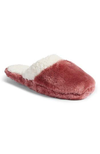 Nordstrom Frosted Scuff Slippers