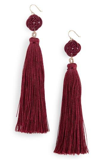 Serefina Tassel Drop Earrings