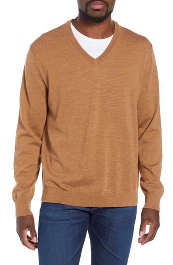 J.Crew V-Neck Merino Wool Sweater