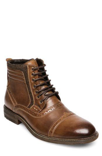 Steve Madden Trentin Cap Toe Boot