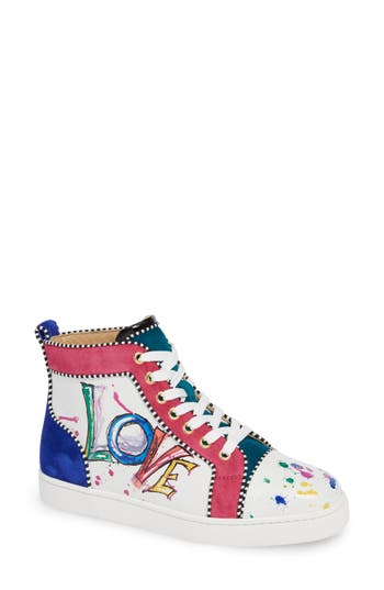 Christian Louboutin Love High Top Sneaker