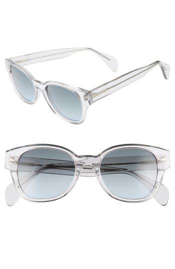 ODLR x Morgenthal Frederics Sabrina 50mm Cat Eye Sunglasses