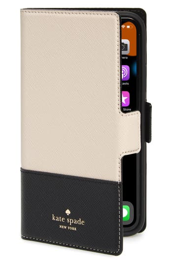 kate spade new york iPhone X/Xs/Xs Max & XR magnetic wrap folio case