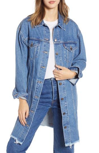 Levi's® Extra Long Denim Trucker Jacket