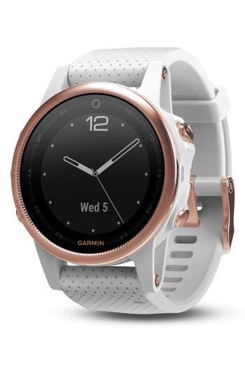 Garmin fenix® 5S Sapphire Premium Multisport GPS Watch, 42mm